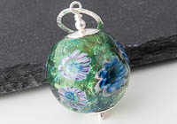 Flower Lampwork Pendant Necklace alternative view 1