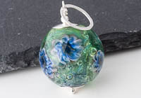 Flower Lampwork Pendant Necklace alternative view 2