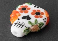 Lampwork Sugar Skull Bead alternative view 2