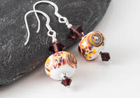 Lampwork Fritty Earrings