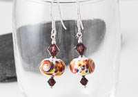 Lampwork Fritty Earrings alternative view 1