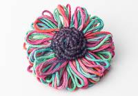 Beaded Flower Brooch