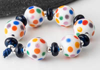 Spotty Lampwork Beads alternative view 1