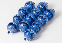 Lampwork Dahlia Beads alternative view 1