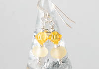 Yellow Lampwork Earrings alternative view 1