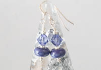 Purple Lampwork Earrings alternative view 1