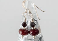 Red Lampwork Earrings alternative view 1