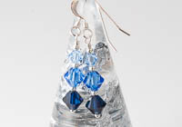 Blue Crystal Earrings alternative view 1