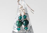 """Green Skies"" Earrings"