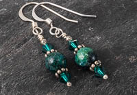 """Green Skies"" Earrings alternative view 1"