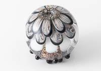 Lampwork Dahlia Bead alternative view 1