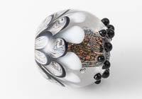 Lampwork Dahlia Bead