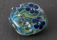 Dahlia Lampwork Bead alternative view 2