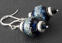 Shimmery Lampwork Earrings alternative view 2