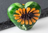Lampwork Sunflower Bead