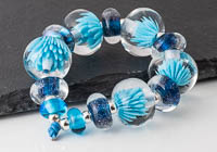 Lampwork Aster Beads alternative view 1