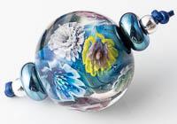 Lampwork Flower Murrini Bead Set