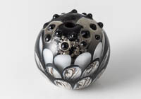Lampwork Dahlia Bead alternative view 1