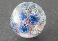 Lampwork Flowery Bead